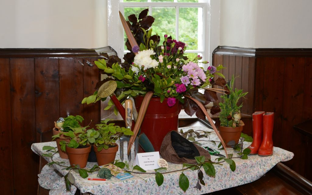 Kilcalmonell Church flower festival.