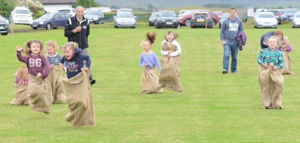 There were some spills in the girls' under-six sack race. 25_c30southendgames10