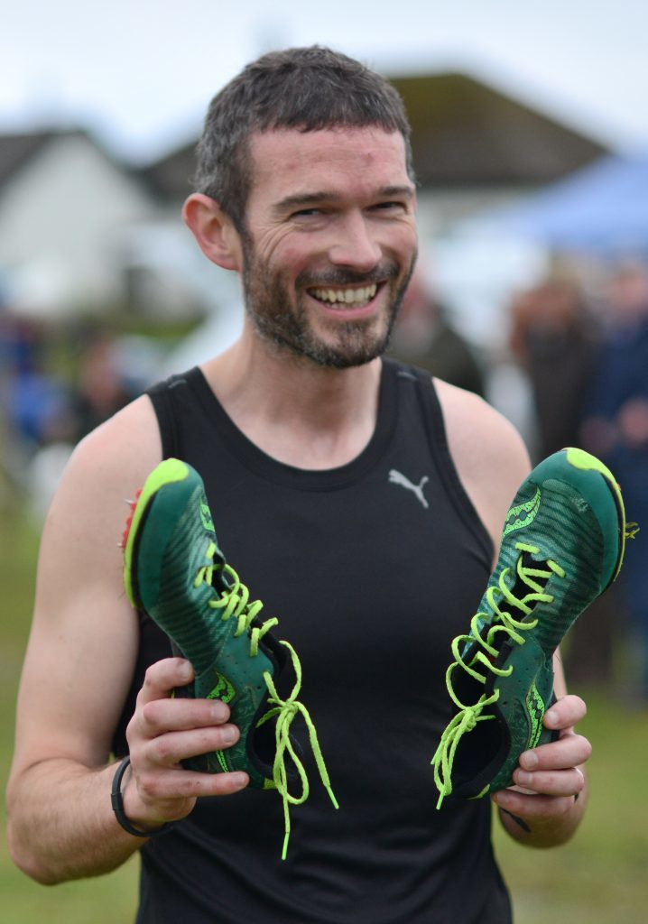 Campbeltown Running Club's Stuart McGeachy had a great week winning the two miles at Inveraray games and the mile at Southend. 25_c30southendgames15