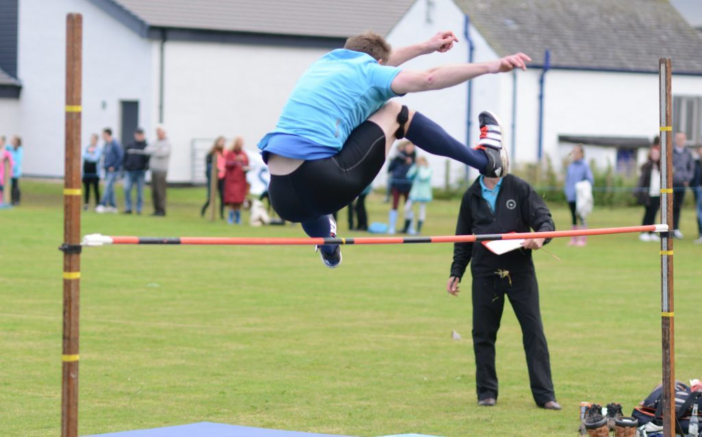 Paul Dearie had plenty of space to spare in the high jump. 25_c30southendgames21