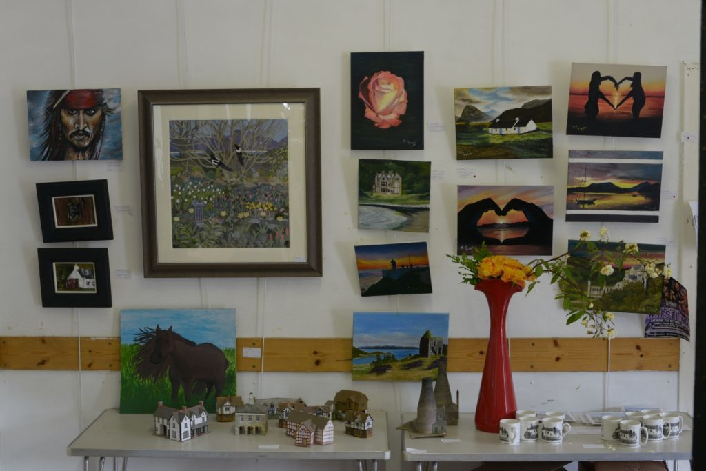 A selection of the work on show. 25_c33clachanart03