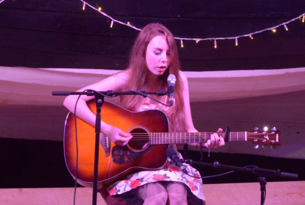 Singer songwriter Hope Strang.