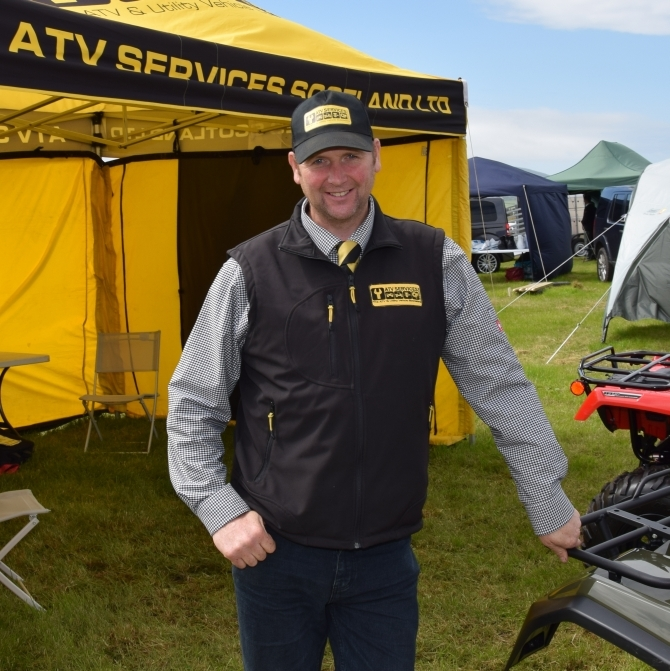 Robbie Semple of ATV Services Scotland LTD. 50_c32kintyreshow15_atv services