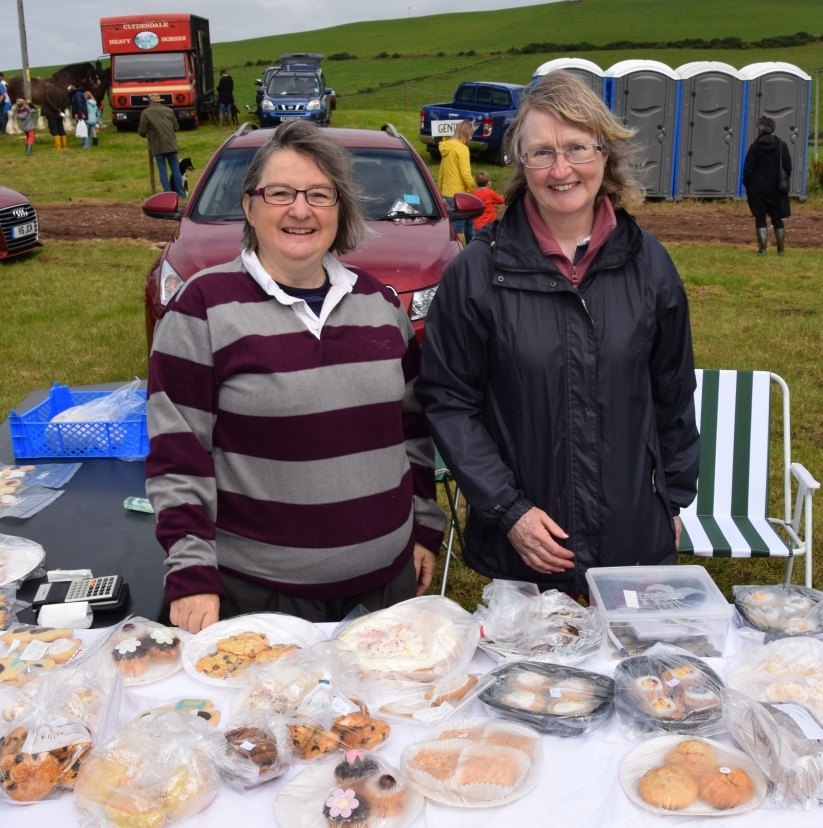 Christine Jardine and Jane Ives kept the SWI's baking stall stocked all day. 50_c32kintyreshow23_swi