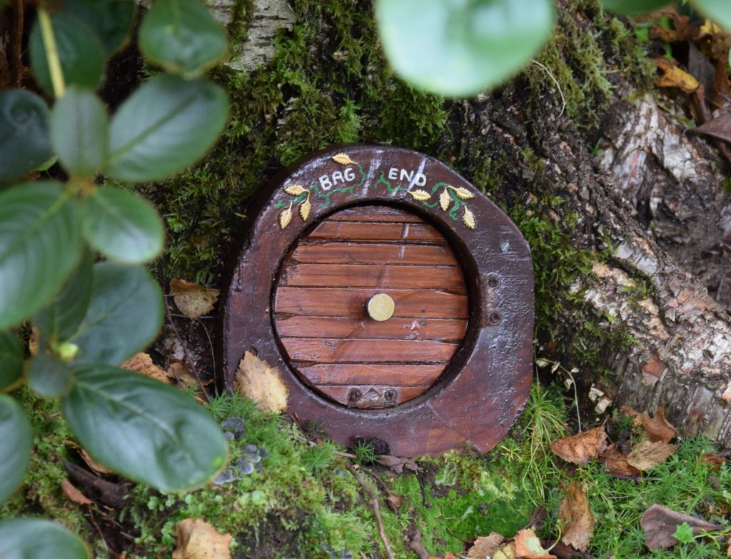 You could be forgiven for thinking you'd landed in Hobbiton, as this fairy door suggests. 50_c35anceardach10_fairy door