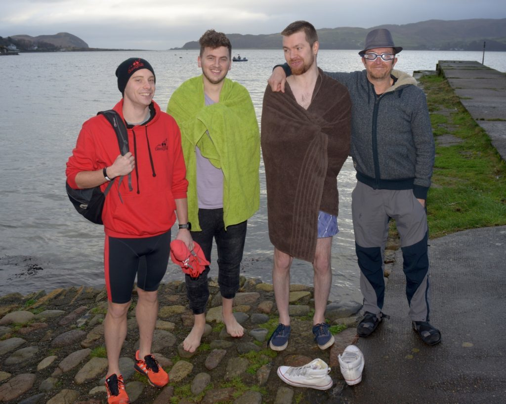 Craig Armour, Luke Angus, Daniel and David Fee.