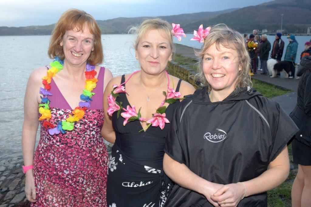 Mairi Cosgrove, Jowita Kolibska and Ailsa Clark.
