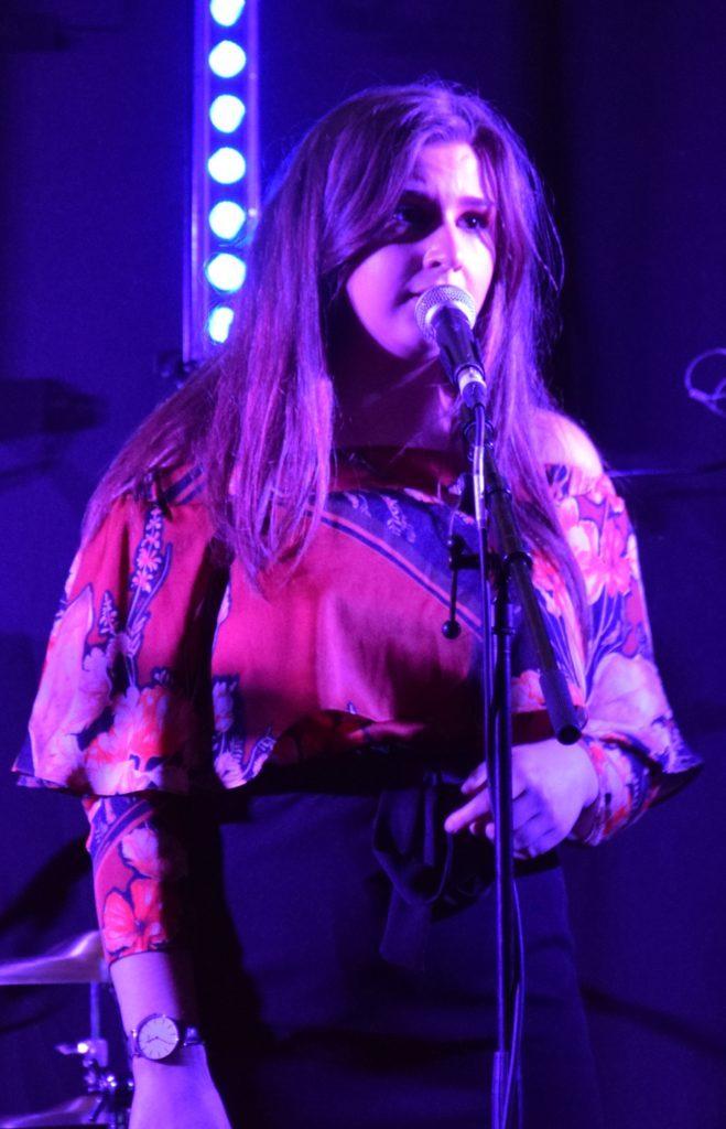 Heron Valley's lead singer, Abigail Pryde.