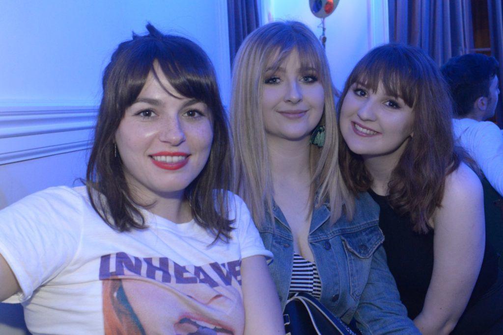 Roisin Reilly, Annalise Shields and Abbie Mathieson.