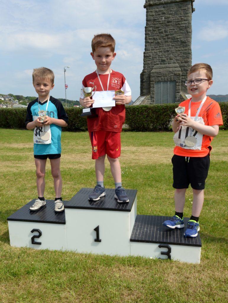 Boys 5-6 podium