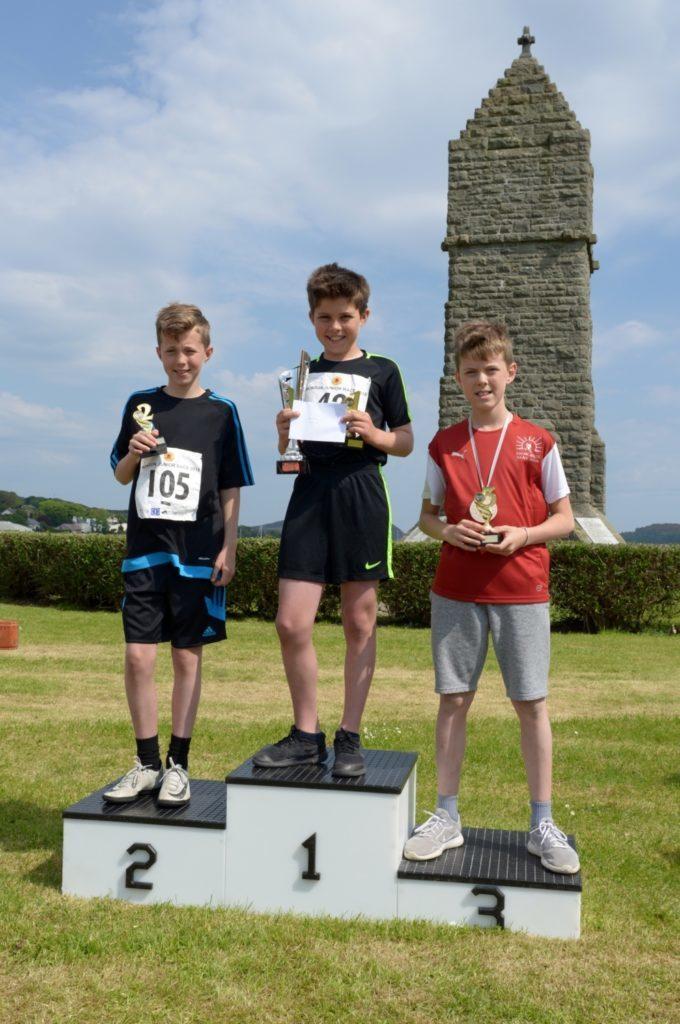 Boys 9-11 podium