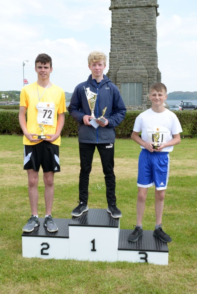 Boys 12-14 podium