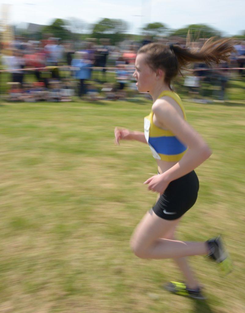 Ella McGregor at speed