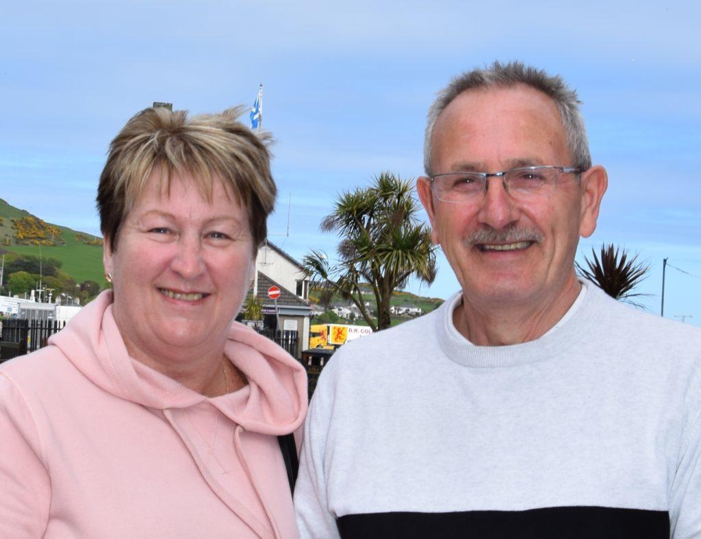 Tom McKeown and Isabel McKeown.