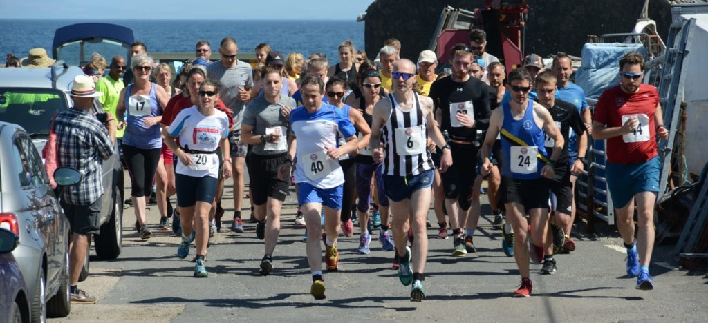 Carradale Canter 10K start