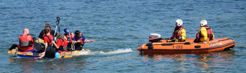 Kintyre Care Home had to be towed back by the inshore lifeboat.
