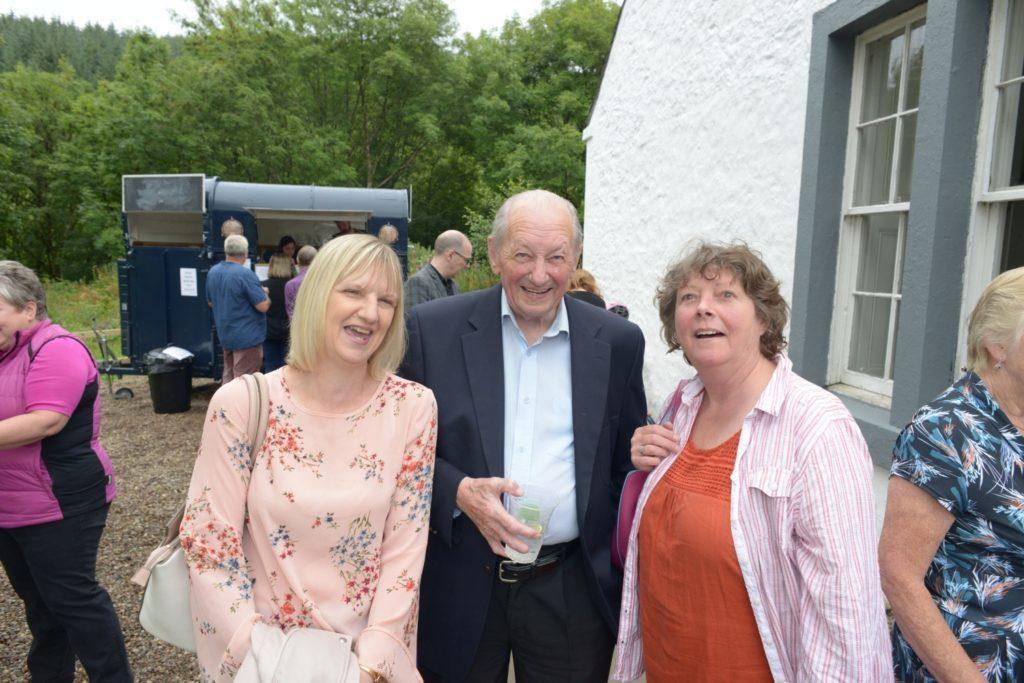 Diane McMillan, Argyll McMillan and Jane Dunbar