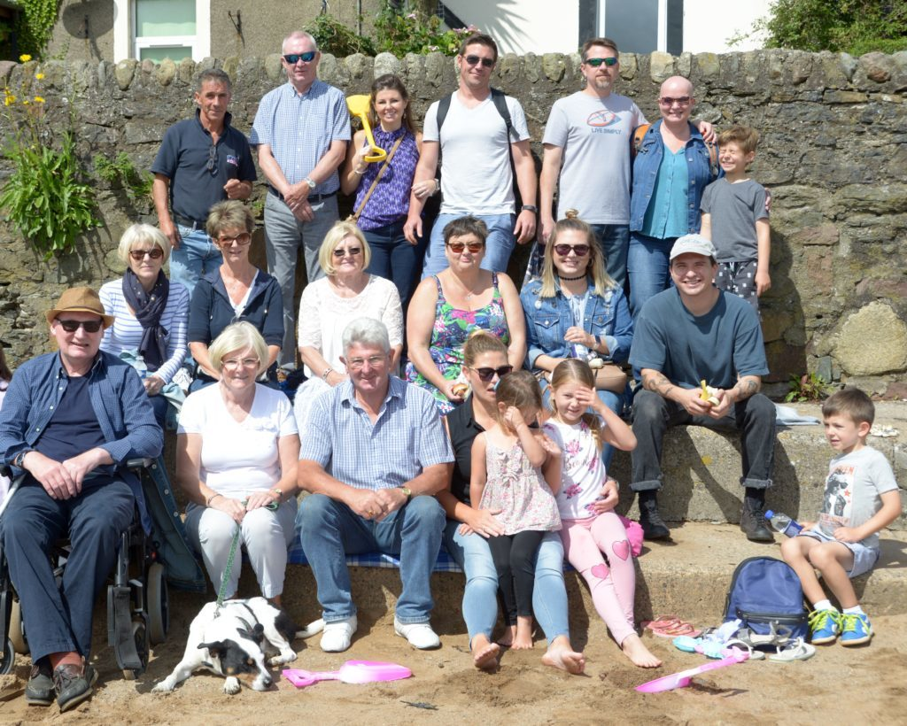 ​Ian Wardrop's extended family, including a number of relatives from South Carolina, USA, visited for the regatta.  Including Jamie McLean top left, they are: Alastair Stuart, Julie Wagner, Jason Wagner, Kent Munz, Christie Munz, Henry Wagner, Rhona Doss, Catherine Wardrop, Jean Chrismer, Kerry Wing, Nicole Doss, Andy Munz, Bobby Robertson, Rosemary Robertson, Ian Wardrop, Becky Field, Millie Ashby, 4, Jennifer Ashby, 6 and Graham Wagner, 5. 25_c32regatta04_group