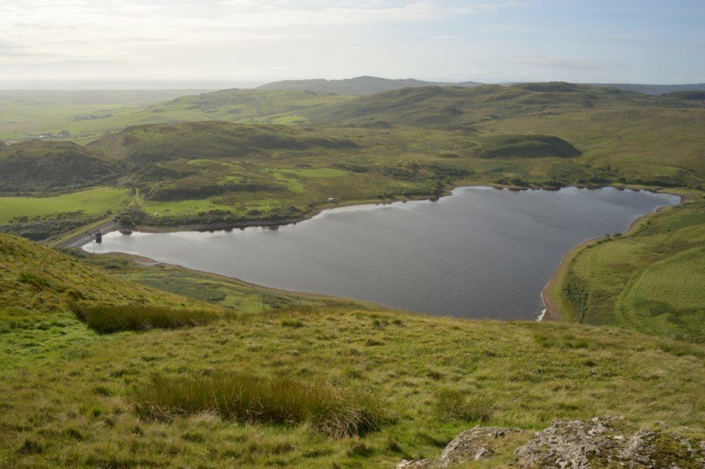 Aucha Lochy reservoir.