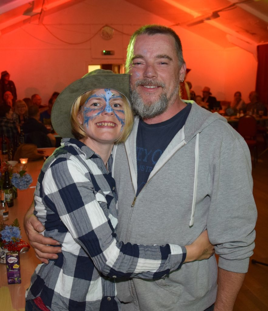Elaine MacCallum and Terry Russell met at the first ever Clachan Smallholders' Gathering.