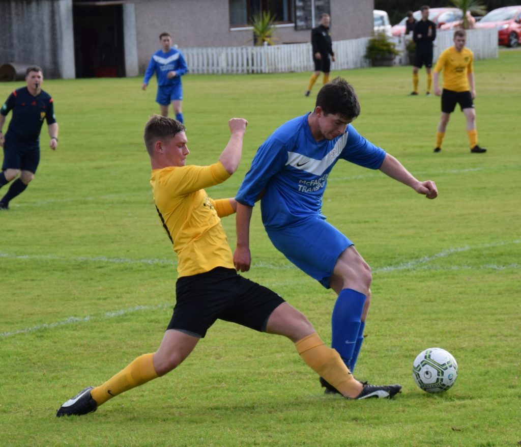 Stuart Macphail in action.