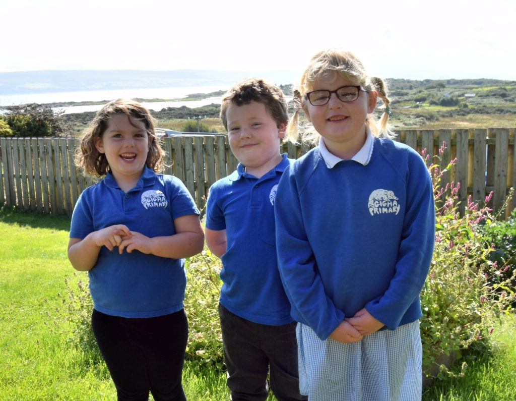 Gigha Primary School.