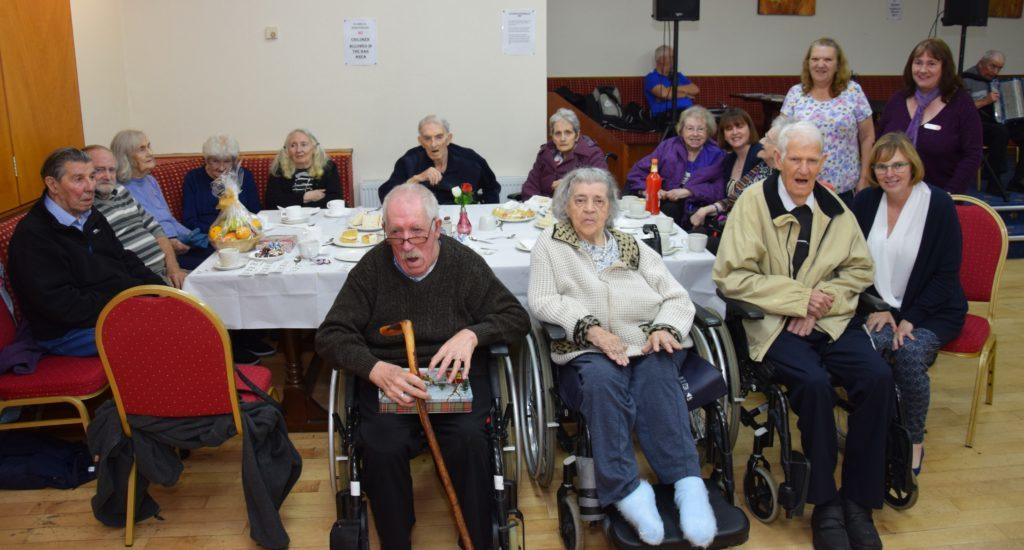 Residents from Kintyre Care Home enjoyed an afternoon out.