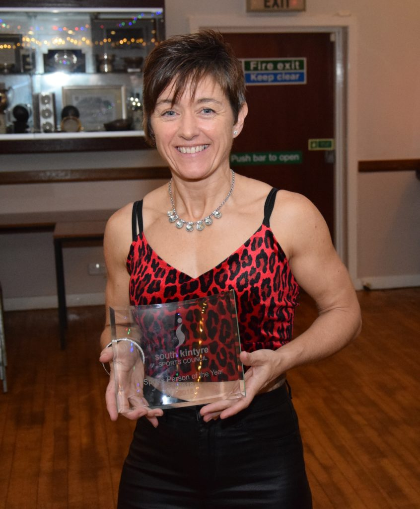 Fiona Irwin, sports person of the year.