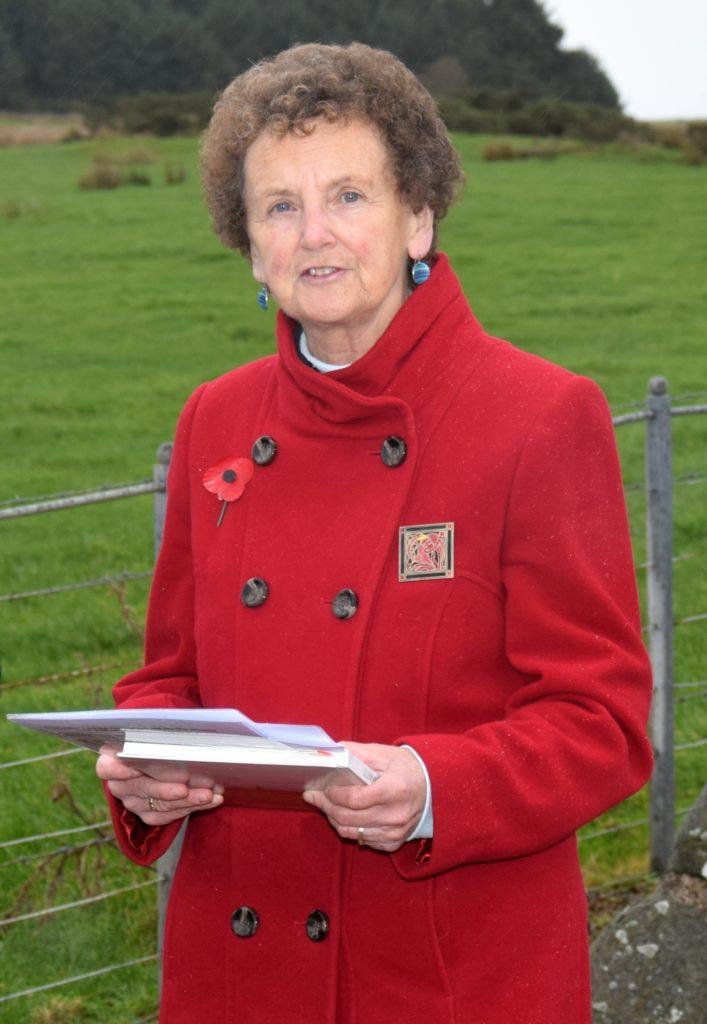 Marilyn Shedden led a moving service.