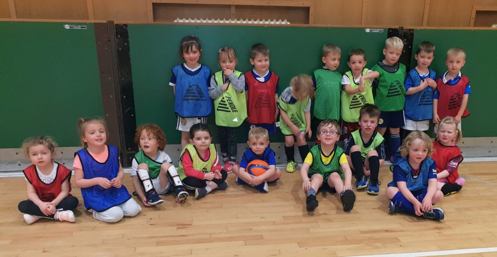 Some of the largest ever Mini Kickers intake.