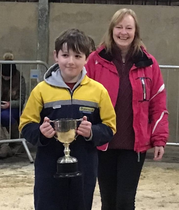 Jack Ralston won the Society Cup for the best calf and the President's Cup for the best Ayrshire calf.