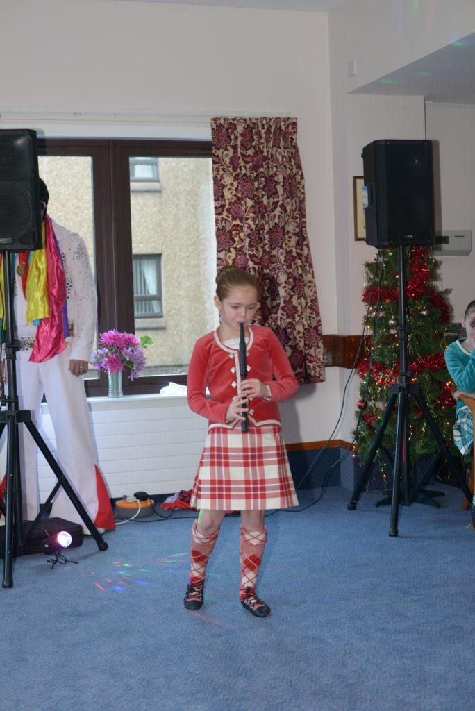 Playing the chanter. 25_c52LCCshow22