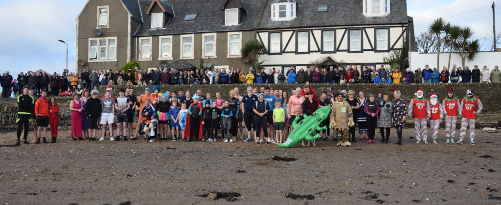 More dippers than ever before took part in this year's Dip For Dosh.
