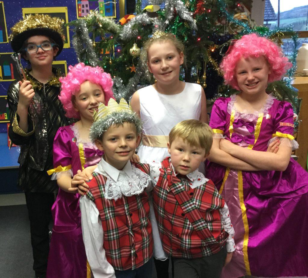 The cast of Clachan's Cindereilidh.