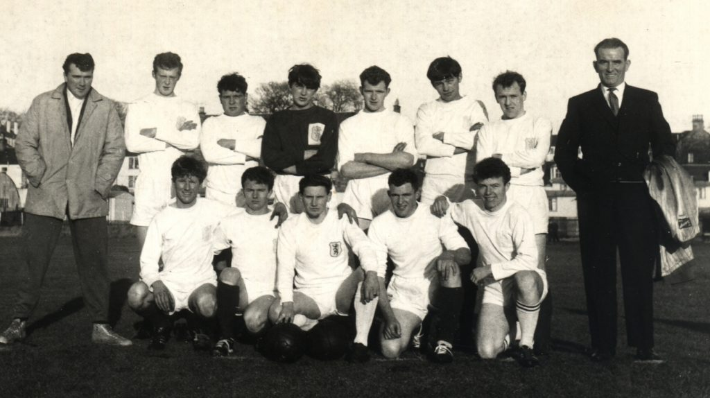 A team in 1968, a decade after the club started up again after the Second World War.