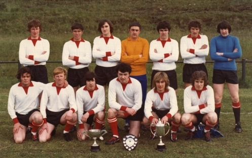 Pupils league and cup winners in 1972/73.