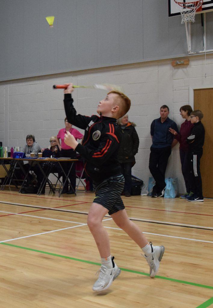 P7 runner up and mixed doubles winner Daniel McEachran.