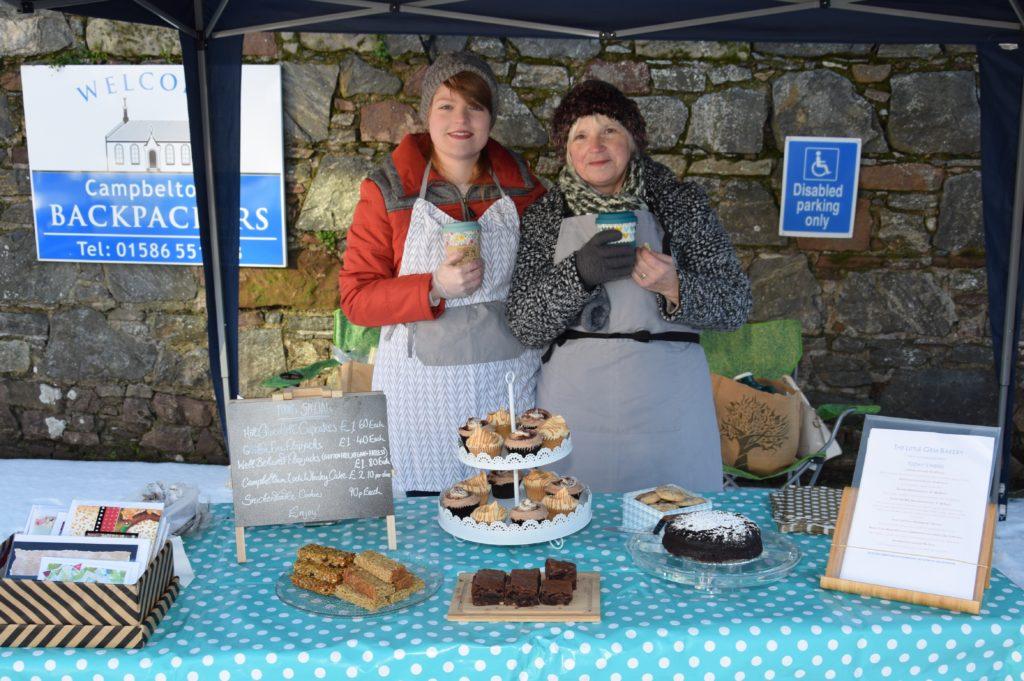 Sarah-Jayne Wilkinson of Little Gem Bakery and her mum, Jane.