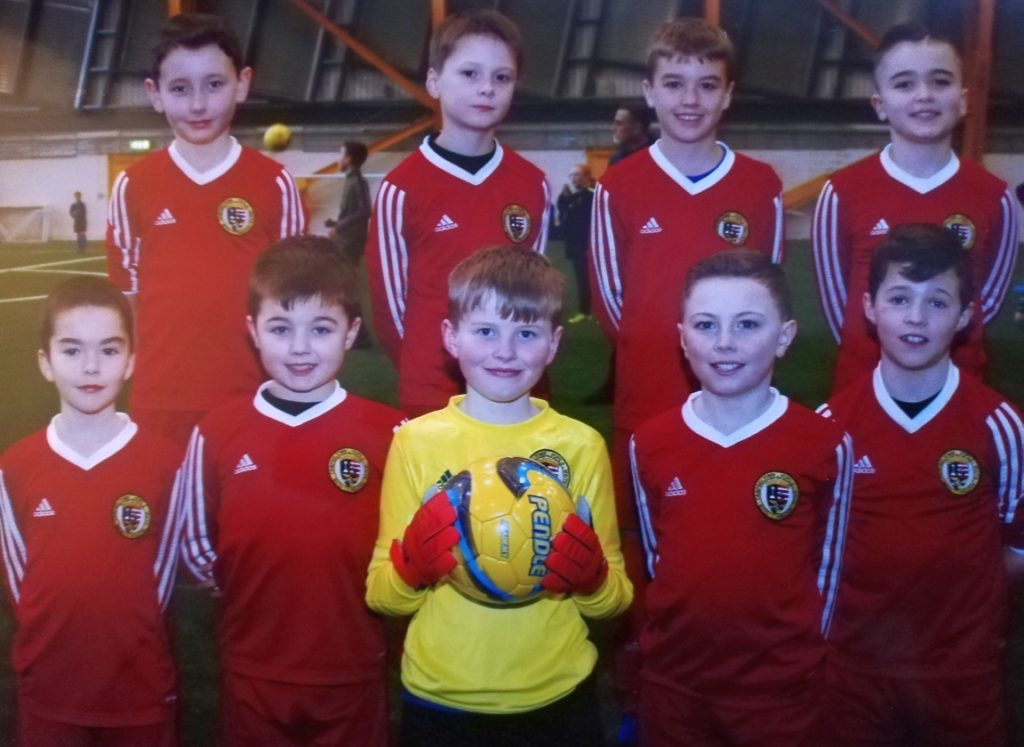 The 2009s team at Ravenscraig Regional Sports Facility.