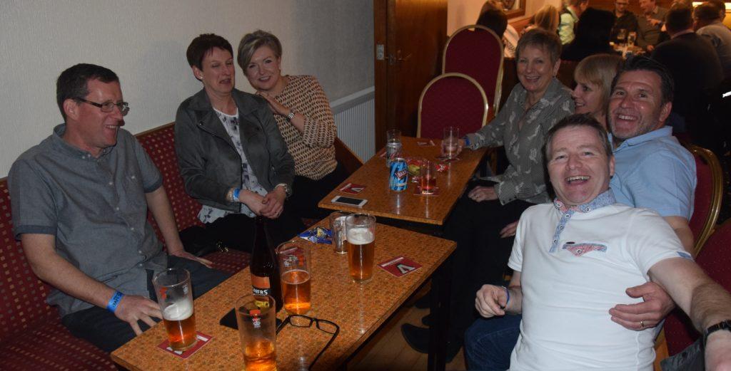 Donald Mackinnon, Janet Thomson, Jane Hill, Mhairi McPherson, Mairi Mackinnon, Ralph Hill and Andrew Thomson.