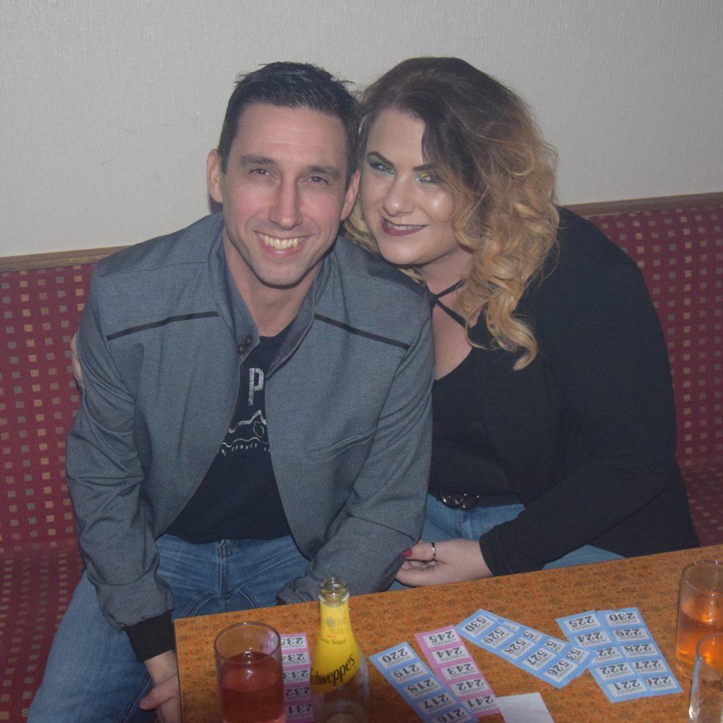 Daryn and Kim Mathieson.