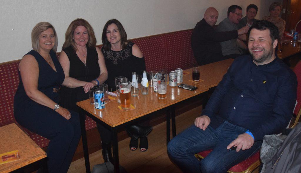 Jackie McLatchie, Kirsteen Anderson, Karen Anderson and Stephen Wyper.