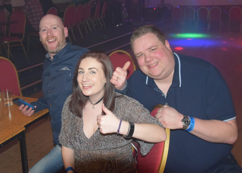 The event got a thumbs up from John Docherty, Nicole Docherty and Stephen MacSporran.