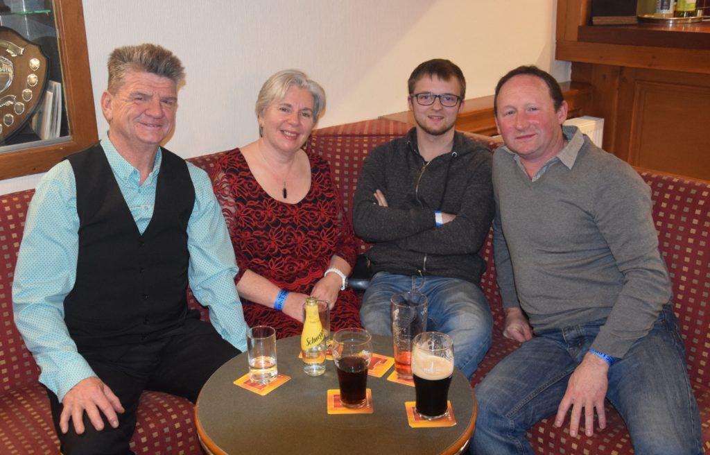 Donnie Cameron, Kate Cameron, Greg Grogan and Hugh Wilson.