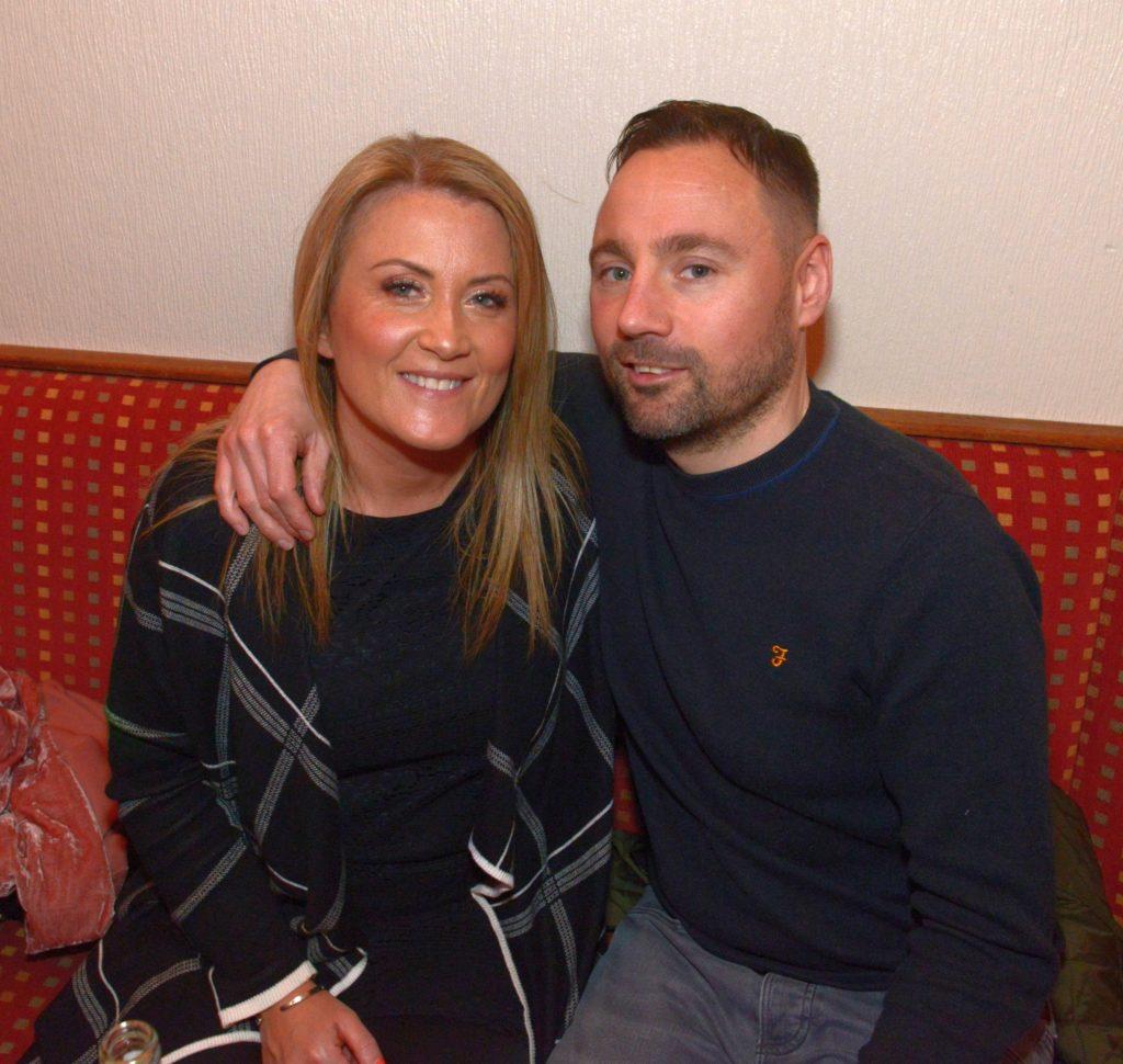 Karen Thomson and Fin Stewart.