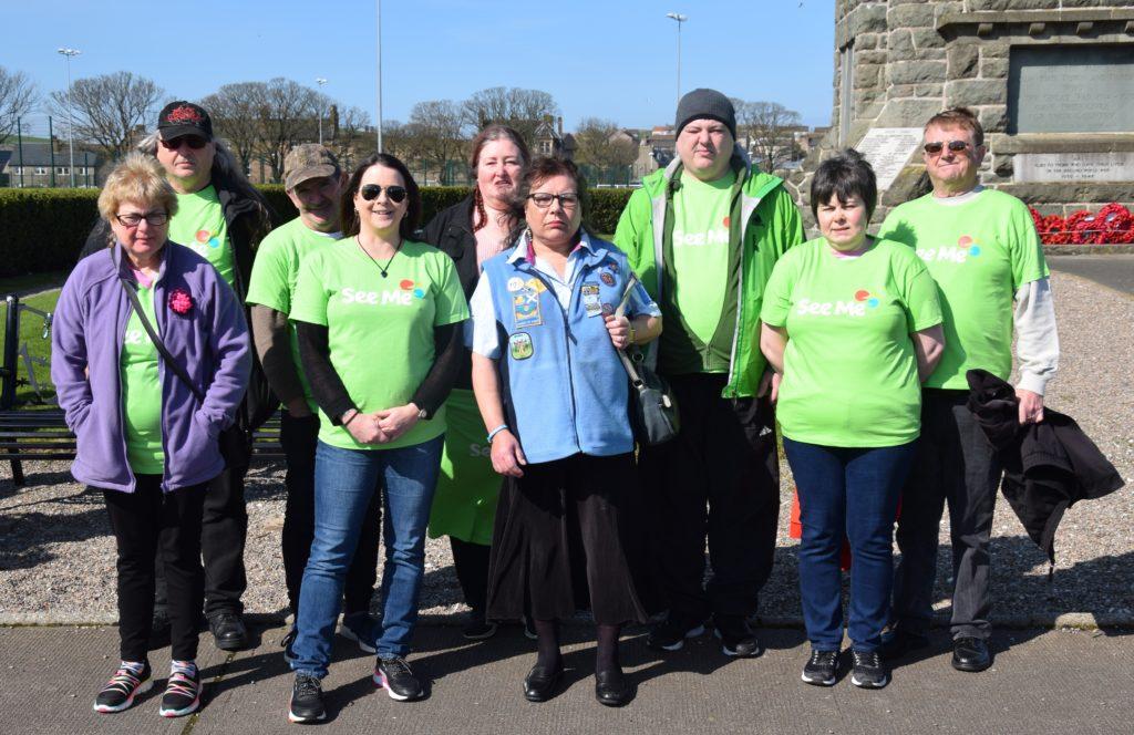 Members of Kintyre Link Club who took part.