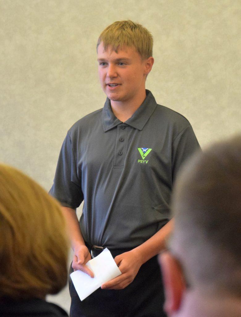 New recruit Finlay Barnett spoke about why he joined PSYV.