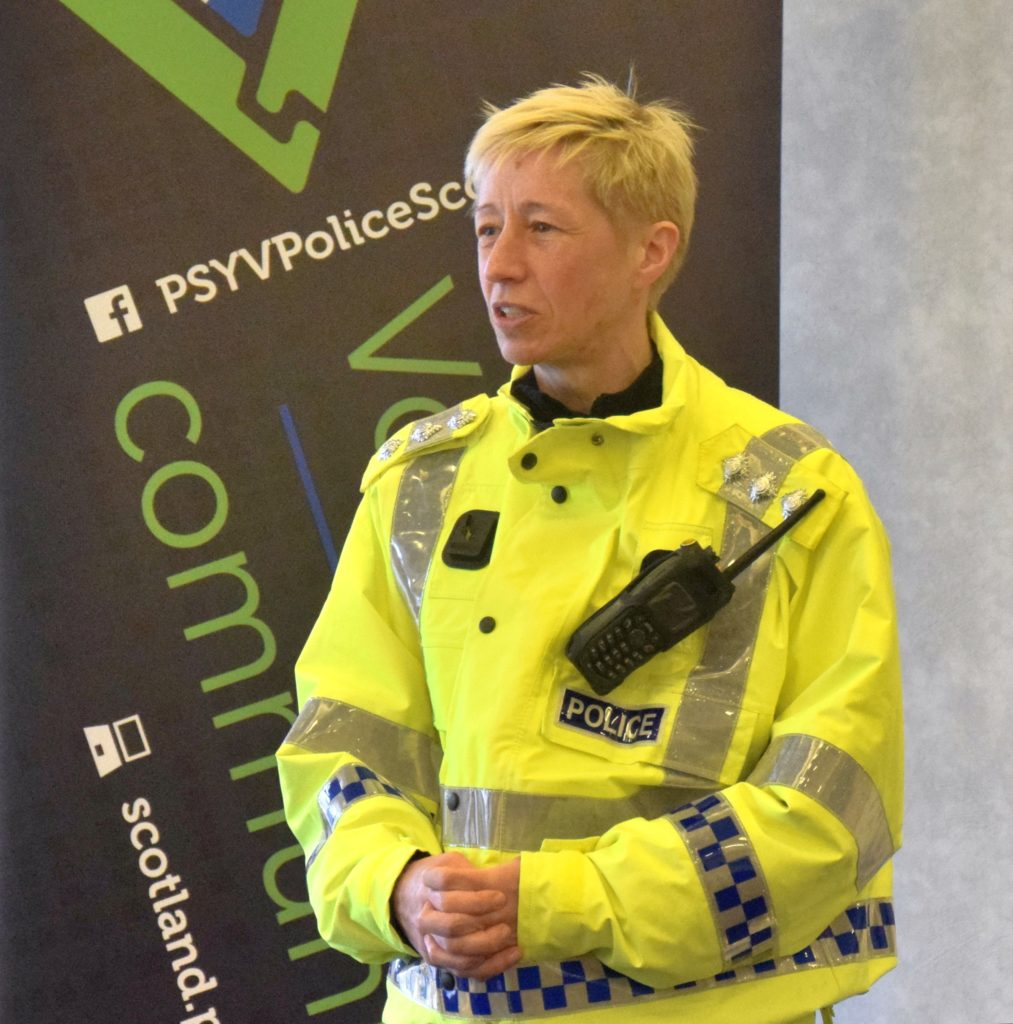 Chief Inspector Marlene Bailey praised the youngsters in front of their family and friends.