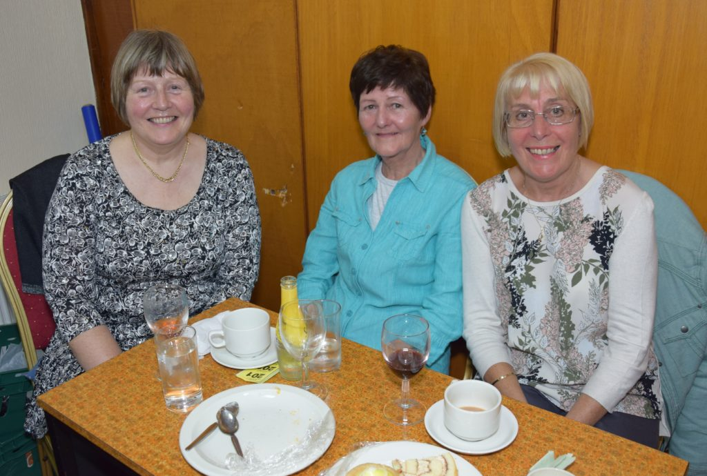Mary McAlister, Kathleen McGeachy and Anne Brown.