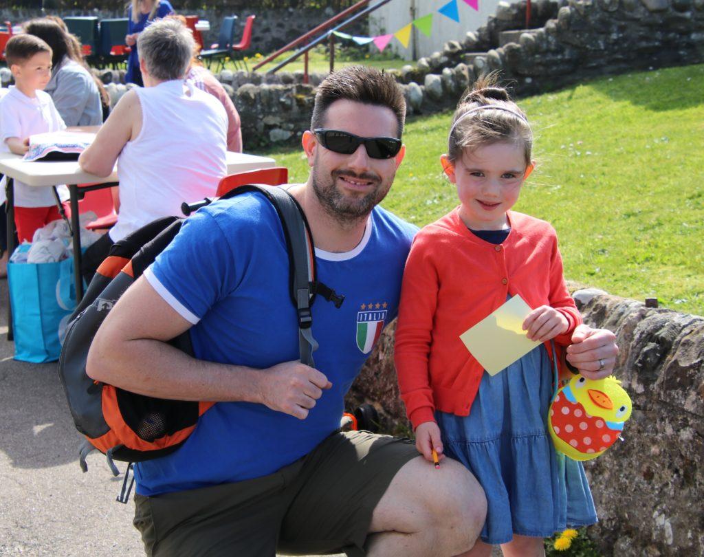 Chris Bain and his daughter Erika.